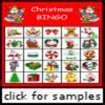 Christmas Picture Bingo NEW