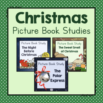 Christmas Picture Book Study Bundle