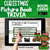 Christmas Picture Book Trivia BOOM Cards Digital Activities
