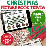 Christmas Picture Book Trivia Game | Digital and Printable BUNDLE