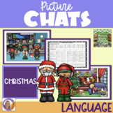 Christmas Picture Chat!- Vocabulary, 'Wh' questions & discussion