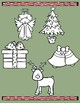 Christmas Picture Match File Folder