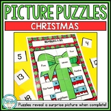Kindergarten Christmas Picture Puzzle Activities