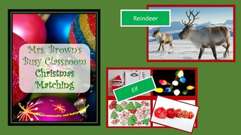 Christmas Picture and Word Match