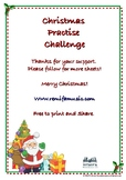 Christmas Pieces Challenge for any instrument.