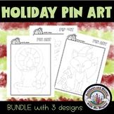 Christmas Pin Art Bundle