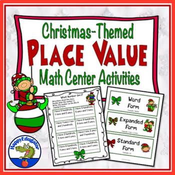 Place Value - Christmas Math Center
