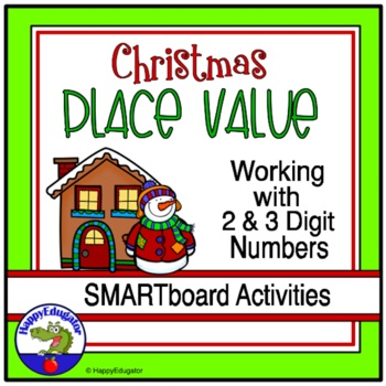 Christmas Place Value SmartBoard Fun