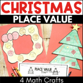 Holiday Christmas Place Value Activities and Math Centers