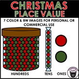 Christmas Place Value Clipart Hundreds Tens Ones