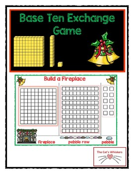 Christmas Place Value Exchange Game