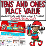 Christmas Place Value Math Center and Craft