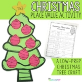 Christmas Place Value Math Craft