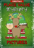 December Christmas Place Value Mystery Pictures