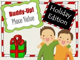 Christmas Place Value Practice Game - BUDDY-UP!
