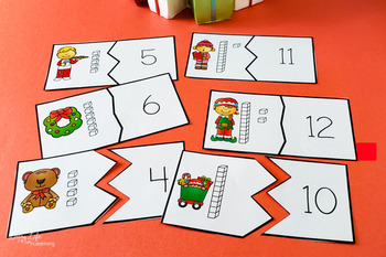 Christmas Place Value Puzzles