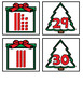 Christmas Place Value - Tens and Ones Pocket Chart Center