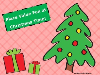 Christmas Place Value (identify value of underlined digit)