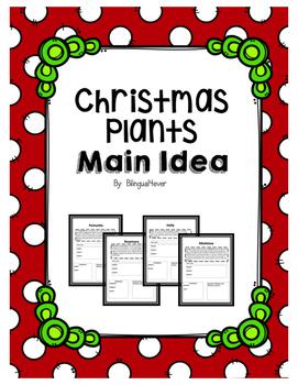 Christmas Plants and Main Idea