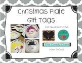 Christmas Plate Gift Tag