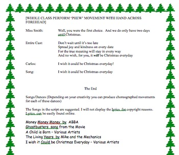 Christmas Play - Reader's Theatre Script