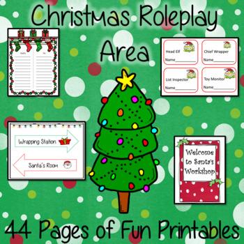 Christmas Play Area   -  44 Fun Printables