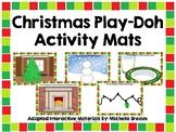 Christmas Play-Doh Activity Mats--Set of 10