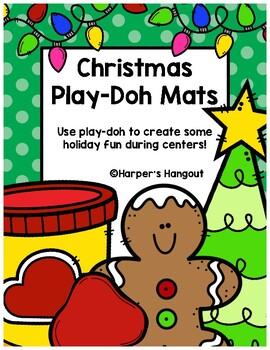 Christmas Play-Doh Mats