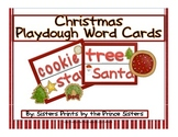 Christmas Play Dough Mat Set