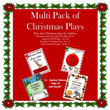 Christmas Play Multi Pack - Four Christmas Plays for Children