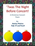 Christmas Play - 'Twas the Night Before Concert