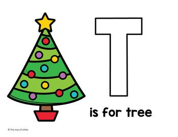 Christmas Playdoh Mats - NO PREP