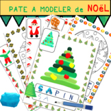 Christmas Playdough / french resources