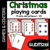 Christmas Playing Cards (Subitize!)