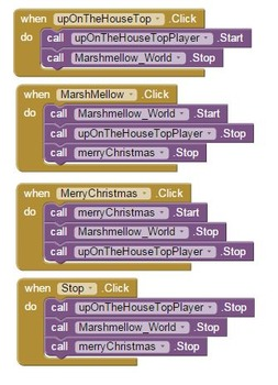 Christmas Playlist Android App Lesson and Rubric