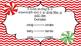 Christmas Plural Nouns