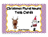 Christmas Plural Nouns Task Cards