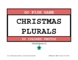 Christmas Plurals Go Fish Game