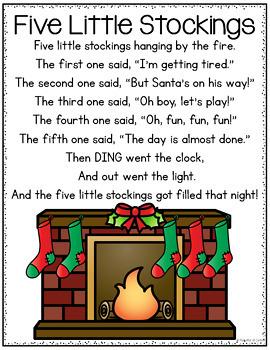 Christmas Pocket Chart