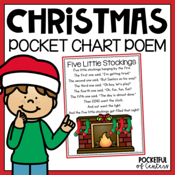 Christmas Pocket Chart