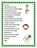 Christmas Poem  Final L consonant blends