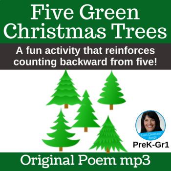 "Original Christmas Poem | ""Five Green Christmas Trees"" By Lisa Gillam | Poem mp3"