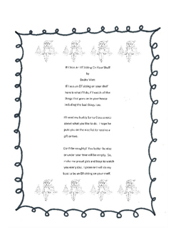 Christmas Poem - If I Was An Elf Sitting On Your Shelf