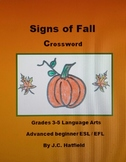 Signs of Fall Crossword