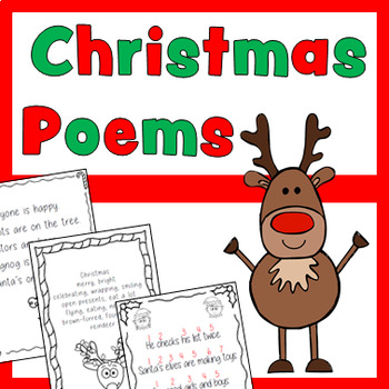 Christmas Poems Pack (with writing prompts & templates!)
