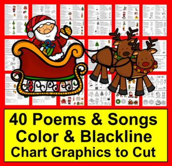 Christmas Activities: Poems, Songs and Finger Plays for Shared Reading & Fluency