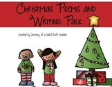 Christmas Poems and Writing Pack