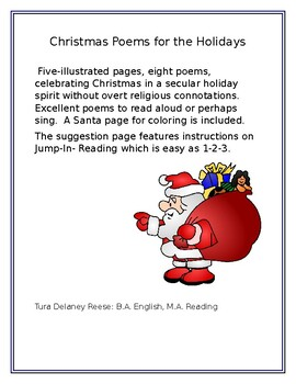 Christmas Poems for the Holidays