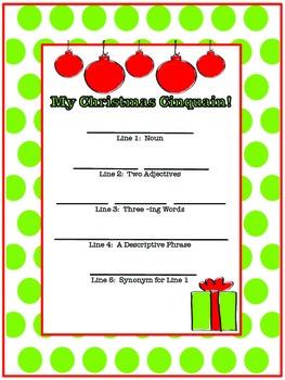 Christmas Poetry!