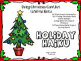Christmas Poetry - Christmas Card Haiku  - Poetry for the